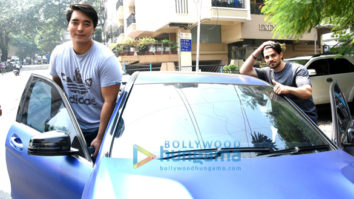 Sooraj Pancholi and Rinzing Denzongpa snapped in Bandra