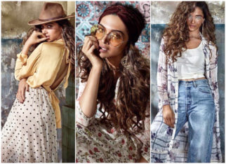 Deepika Padukone looks like a smoke storm in her latest photoshoot for her clothing line!