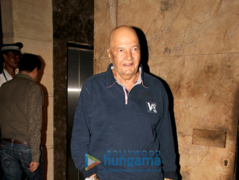 Iulia Vantur watches 'Judwaa 2' at Salim Khan's club screening