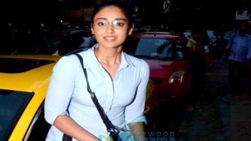 Ileana D'Cruz snapped outside a restaurant in Bandra