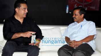 Kamal Haasan meets Delhi's CM Arvind Kejriwal