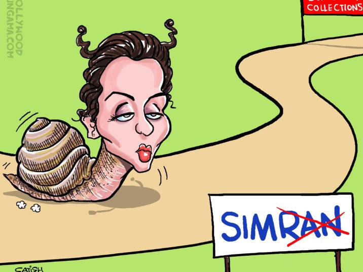 Kangana's Simran crawls at the box office!