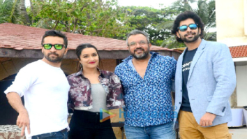 Sharaddha Kapoor, Siddhanth Kapoor and Ankur Bhatia promote their film 'Haseena Parkar'
