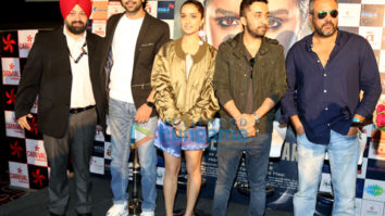 Shraddha Kapoor promotes Haseena Parkar with the team at Odeon Carnival Cinemas in Delhi