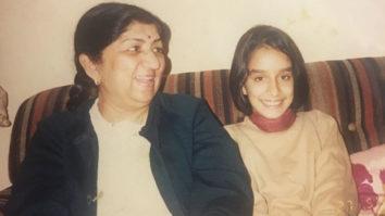 Shraddha Kapoor shares an old photograph on grandmother Lata Mangeshkar's 88th birthday