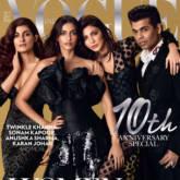 Sonam Kapoor, Anushka Sharma, Karan Johar and Twinkle Khanna grace the special edition of Vogue
