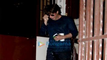 Shah Rukh Khan snapped outside a studio in Mumbai