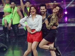 Varun Dhawan, Taapsee Pannu and Jacqueline Fernandez entertain the audience at Dance + finale-1