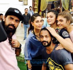 On The Sets Of The Movie Veere Di Wedding
