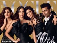 Twinkle Khanna, Sonam Kapoor, Anushka Sharma & Karan Johar On The Cover Of Vogue, Oct 2017