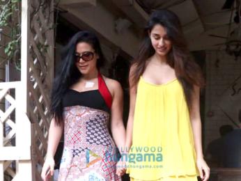 Tiger Shroff and Disha Patani snapped at Smoke House Deli in Bandra