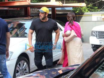 Salman Khan and others at Arpita Khan's Diwali bash