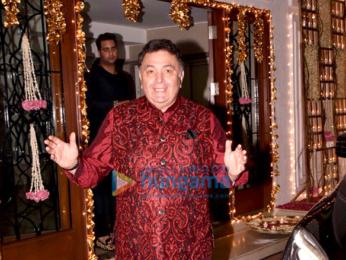 Celebs grace Shilpa Shetty's Diwali bash