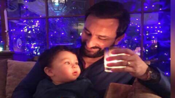 AWW!-Saif-Ali-Khan-and-little-Taimur-Ali-Khan-were-twinning-and-winning-in-traditional-outfits-on-Diwali