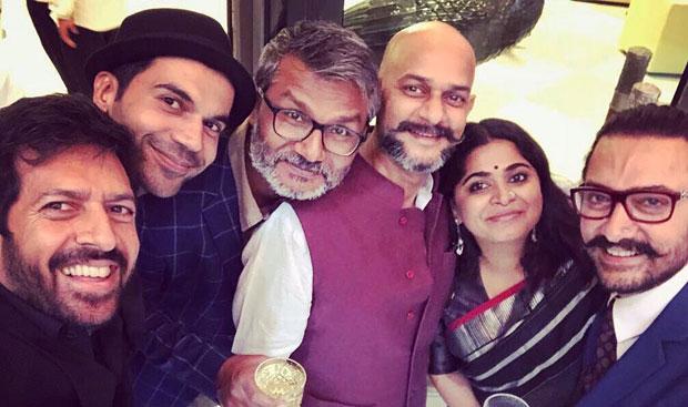 Aamir Khan, Rajkummar Rao, Kabir Khan, Nitesh Tiwari come together for this perfect picture