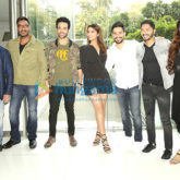 Ajay Devgn, Parineeti Chopra, Tabu, Shreyas, Tushar Kapoor promotes Golmaal Again in New Delhi