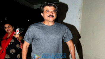Anil Kapoor snapped at PVR Juhu