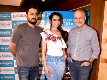 Anupam Kher and others promote Ranchi Diaries