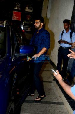 Arjun Kapoor spotted at Ashutosh Govarikar's office in Bandra