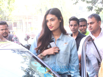 Athiya Shetty snapped at Sequel in Bandra