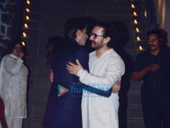 Celebs grace Aamir Khan's Diwali bash