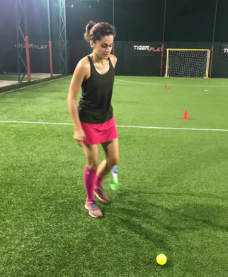 Check out Post Judwaa 2 success, Taapsee Pannu begins prep for her next with Diljit Dosanjh
