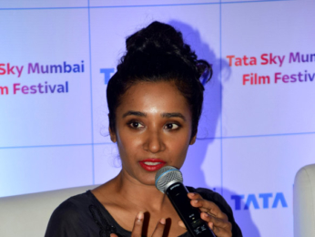 Tannishtha Chatterjee at 'Tata Sky - 19th Mumbai Film Festival' press conference
