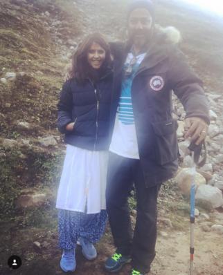 Ekta Kapoor visits the sets of Kedarnath