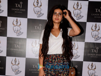 Fatima Sana Shaikh grace Shantanu Maheshwari's 'Bollyfit' launch