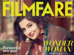 Vidya Balan On The Cover Filmfare