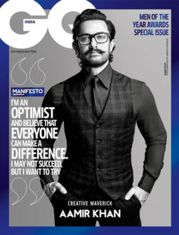 Aamir Khan On The Cover Of GQ, Oct 2017