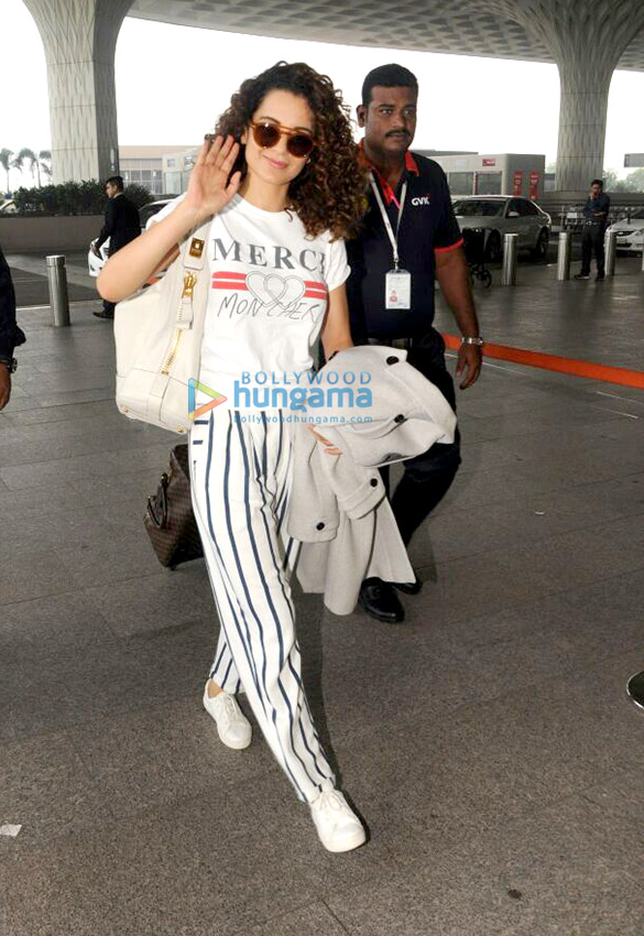 Kangana Ranaut, Farhan Akhtar and others snapped at the airport