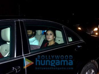 Kiran Rao and Huma Qureshi snapped in bandra