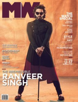 Ranveer Singh On The Cover Of MW Magazine