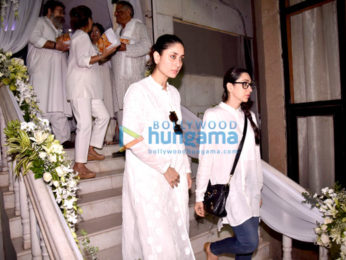Members of Bollywood fraternity at Ram Mukerji's prayer meet