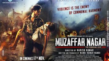 First Look Of The Movie Muzaffarnagar - The Burning Love Story