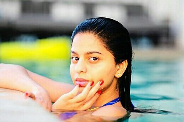 omg suhana khan s swimming pool picture is breaking the internet