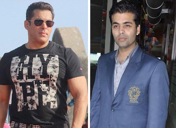 Salman Khan and Karan Johar