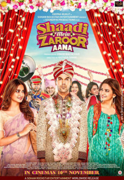 First Look Of The Movie Shaadi Mein Zaroor Aana