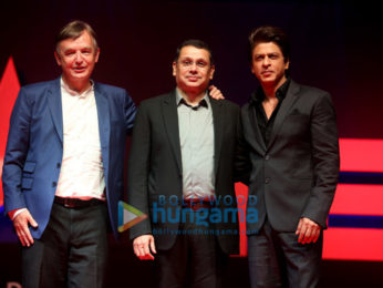 Shah Rukh Khan at the launch of 'TED Talks India - Nayi Soch'
