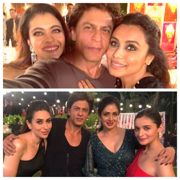 Shah Rukh Khan reunites with Kuch Kuch Hota Hai ladies ...