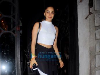Sooraj Pancholi and Kiara Advani snapped at Korner House
