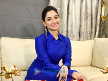 Tamannaah Bhatia snapped during a Diwali photo shoot