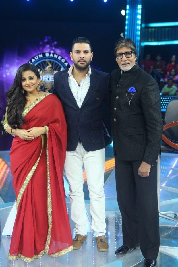 Vidya Balan and Yuvraj Singh join Amitabh Bachchan-2