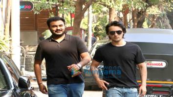 Aayush Sharma snapped in Bandra