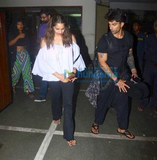 Bipasha Basu and Karan Singh Grover snapped at a friend's place