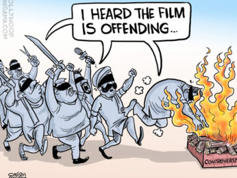Bollywood Toons The Padmavati controversy!