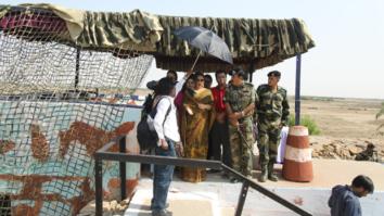 Check out Sulu aka Vidya Balan enthralls soldiers on India- Pakistan border