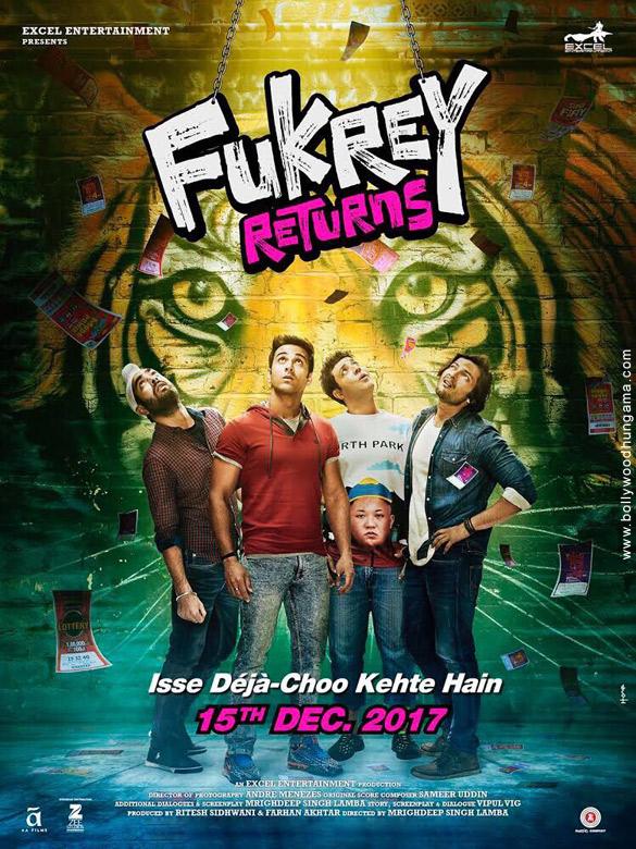 FUKREY RETURNS (2017) con PULKIT SHARMA + Jukebox + Sub. Español + Online  Fukrey-Returns-5
