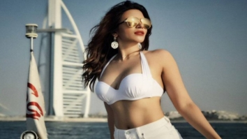HOT! Shama Sikander poses sexily in Dubai waters